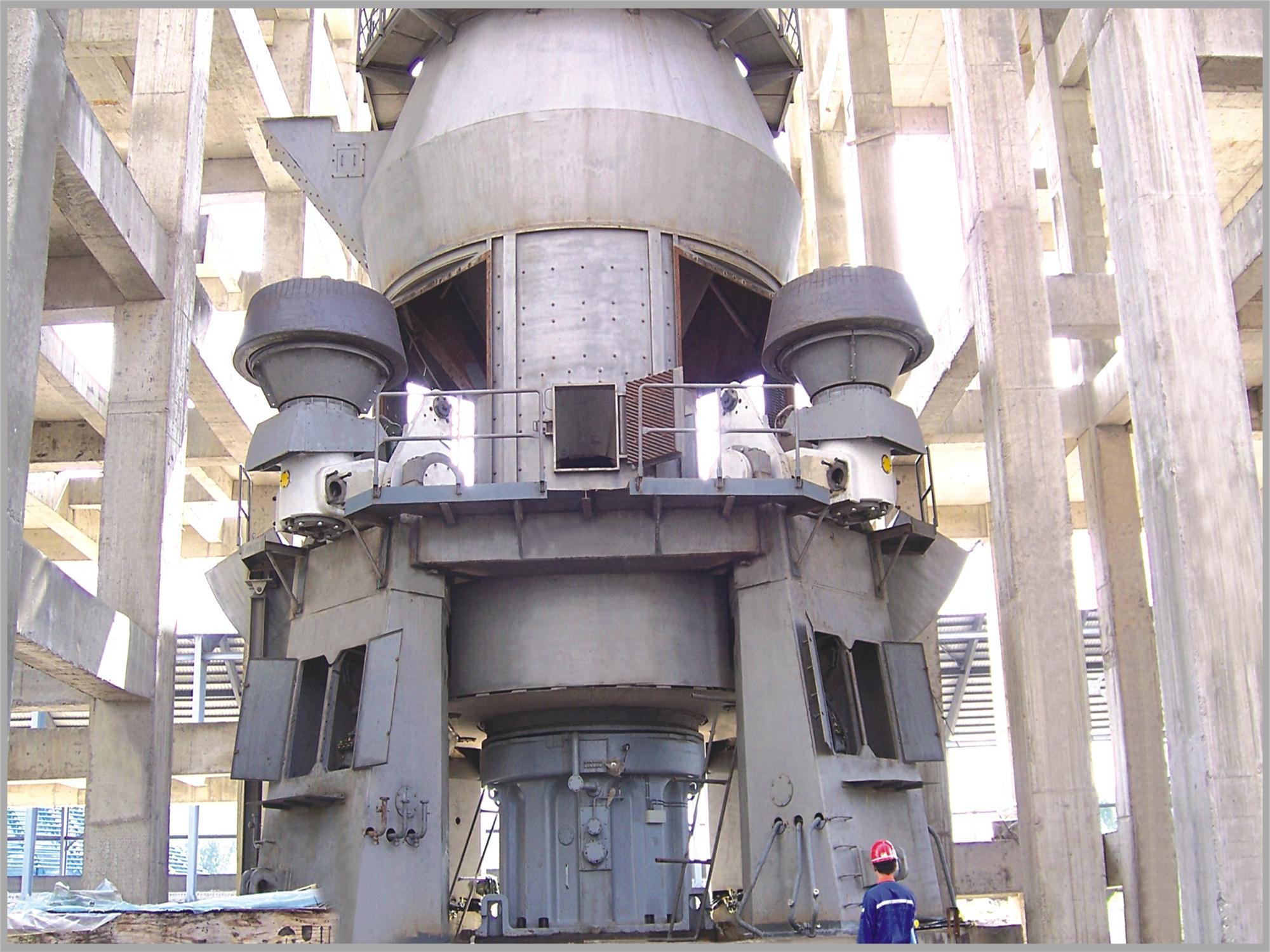 60万吨矿渣立磨生产线解决方案