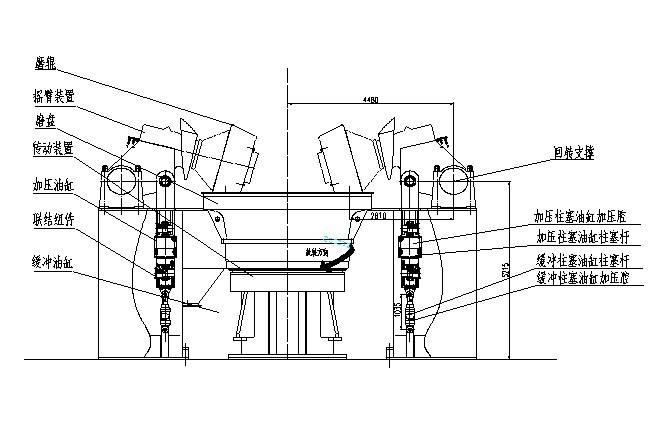 立磨液压系统结构图