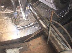 矿渣磨磨辊磨损如何快速低成本修复?