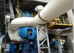 福建某钢铁年产30万吨煤粉矿渣立磨生产线