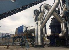 山东兖矿年产60万吨煤粉矿渣立磨机生产线