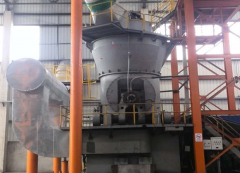 矿渣立磨机生产线设计方案