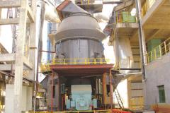 年产60万吨矿渣立磨工作原理